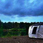 A cloudy evening @ Camp-Glamp