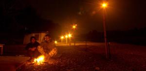 Serenity at the campfire